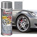 MACOTA 1210077 Vernice Argento Ruote Spray Smalto Speciale per Cerchioni-cod. 05691