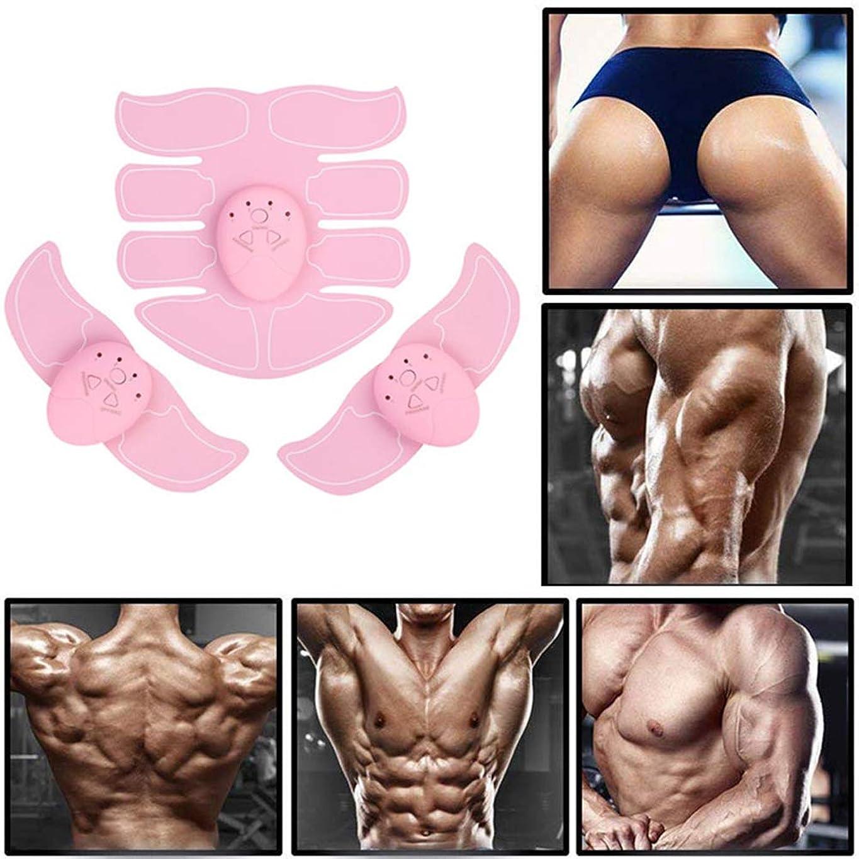 宣伝うねる厳密にEMSの筋肉刺激装置、筋肉の調子を整える腹部トレーナー、筋肉トレーニング男性と女性のためのAbベルトフィットネストレーニング機器