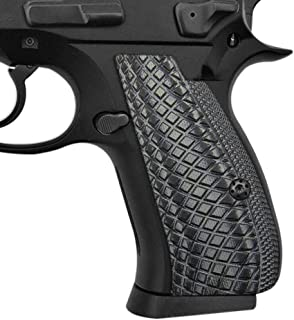Cool Hand G10 Grips for CZ 75/85 Compact, CZ P-01, P100, C100, T100, PCR, CZ 75 D, Screws Included, Snake Scale Texture