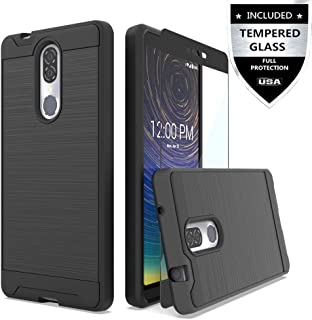 IDEA LINE Coolpad Legacy Case with Tempered Glass Screen Protector, Hybrid Hard..