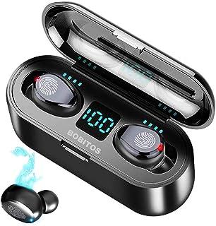 BOBITOS Audífonos Bluetooth Inalámbricos, Control Táctil