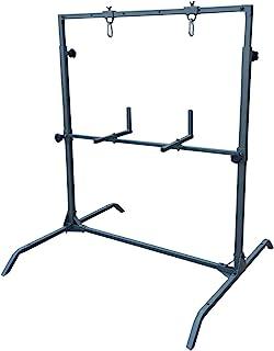 پایه تیراندازی با کمان Highwild | پایه قابل تنظیم با تیراندازی با کمان 3D | دارنده کامپوند Bow و Arrow Stand Rack