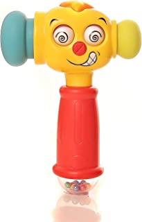 Play Pride Education 12 Months + Old Baby Toy Fun Electric Music Sound Play Hammer Educational Striking Toy for Children & Kids Boys and Girls