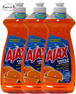 Ajax  Triple Action Orange(414ml) (Pack of 3)