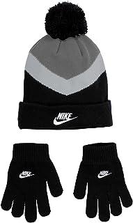 Nike Boy`s Colorblock Beanie & Gloves 2 Piece Set