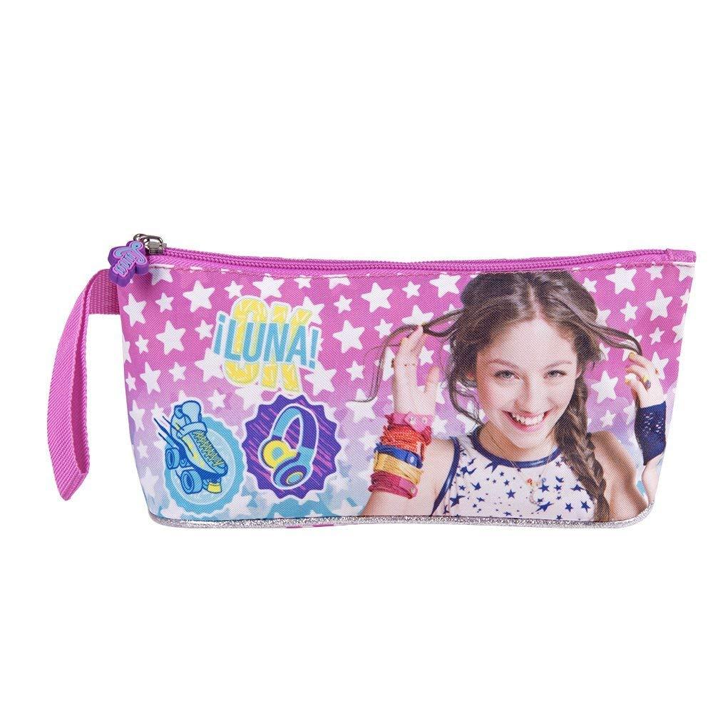 Estuche escolar para niña Disney Soy Luna para lápices de colores y lápices – 10 x 21 x 8 cm con un compartimento: Amazon.es: Hogar