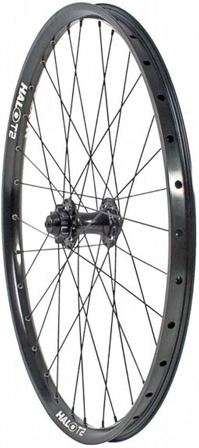 Halo t2 racing roue avant blacke disque 6tr 26'' 9mm 20mm