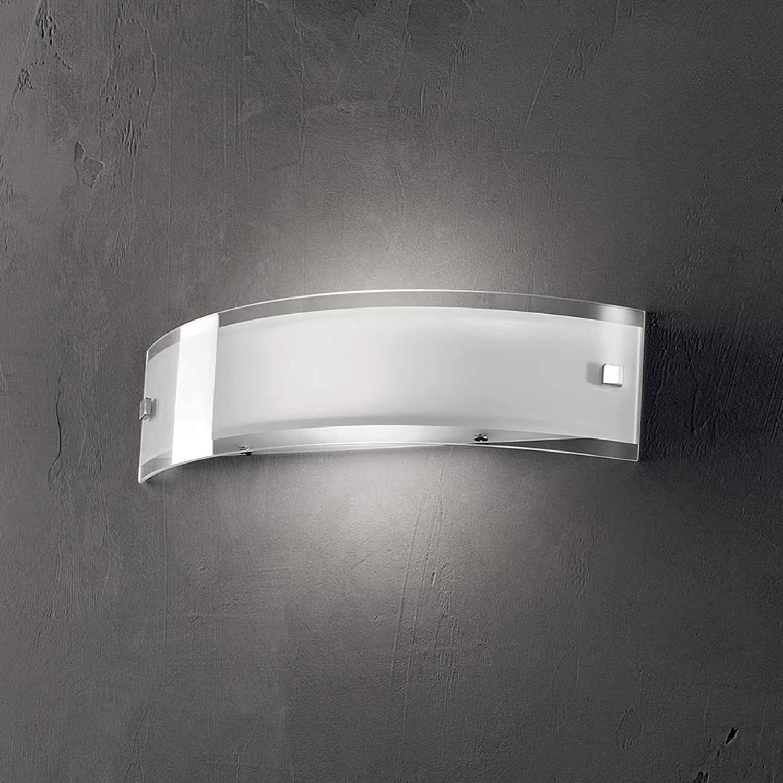 comprar mejor Ideal Ideal Ideal Lux DENIS AP1 MEDIUM Apto para uso en interior R7s 100W blancoo iluminación de parojo - Lámpara (Cepillado, 1 bombilla(s), 100 W, R7s, IP20, blancoo)  almacén al por mayor