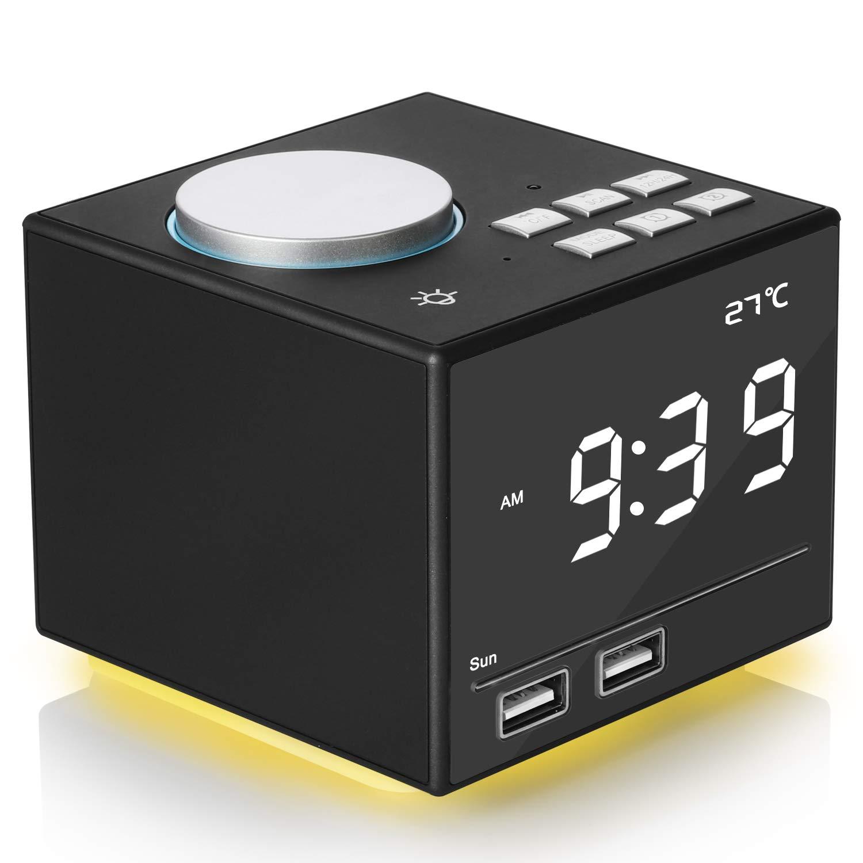 Digital Bluetooth Colorful Atmosphere Snooze%EF%BC%86Sleep