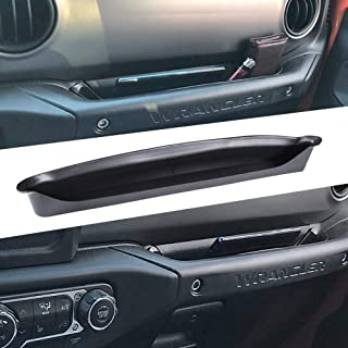 EDBETOS GrabTray Passenger Grab Handle Storage Box for Jeep Wrangler JL JLU 2018-2019, Gladiator JT Truck 2020 Front Copil...