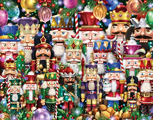 Vermont Christmas Company Schiaccianoci Suite calendario dell' avvento (conto alla rovescia per Natale)