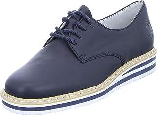 Rieker Femme Chaussures de Ville à Lacets N0210, Dame Chaussures de Sport