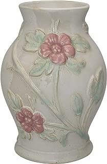 Hull Pottery Early Art Crab Apple White Vase