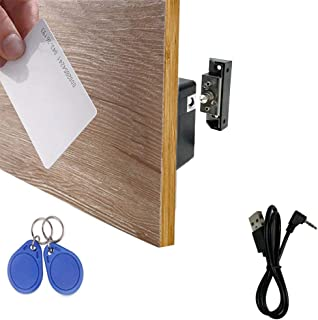 WOOCH Electronic Cabinet Lock, Hidden DIY RFID Lock with USB Cable for Wooden Cabinet..