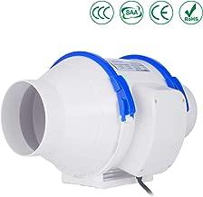 "Bathroom 100mmx2m OOPPEN 4/""x2m Aluminium Flexible Fan Ducting Ventilation Hose for Extractor Fan Hydroponic Room"