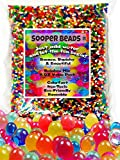 Sooper Beads Water Beads Rainbow Mix, 8 oz (20,000 beads) for Soothing...