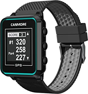 $94 » CANMORE TW353 Golf GPS Watch - Black/Gray/Turquoise