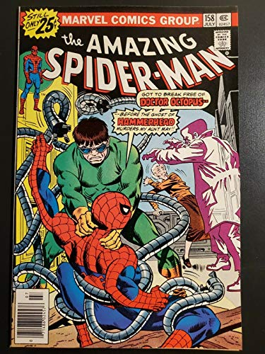 The Amazing Spider-Man #158 (1976) NM- (9.2) vs Hammerhead/Doctor Octopus |