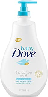 Baby Dove Tip to Toe Baby Wash Rich Moisture 20 Fl Oz (Pack of 1)