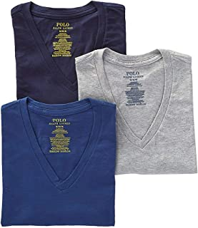 Men's Classic Fit w/Wicking 3-Pack V-Necks
