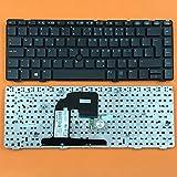 kompatibel für HP EliteBook 8460p 8460w Tastatur - Farbe: schwarz - Deutsches Tastaturlayout - mit TrackPoint, ohne Rahmen