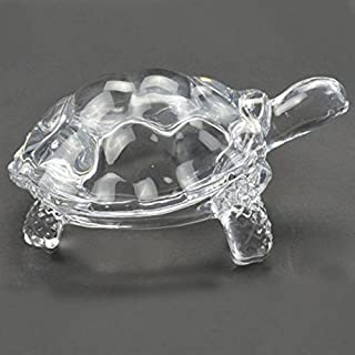 odishabazaar Crystal Turtle small Tortoise for Feng Shui and vastu - Best Gift for Career and Luck