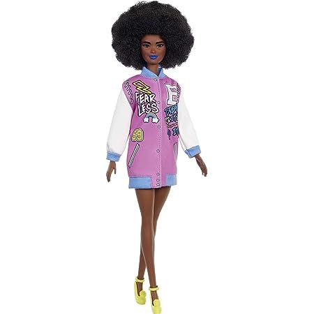 Muñeca Barbie Fashionista Cabello Afro