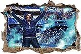 Ultras Bielefeld, 3D Wandsticker Format: 92x62cm,