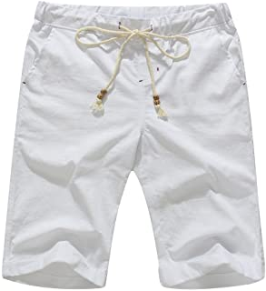 Amazon Essentials Men's Linen Casual Classic Fit Short