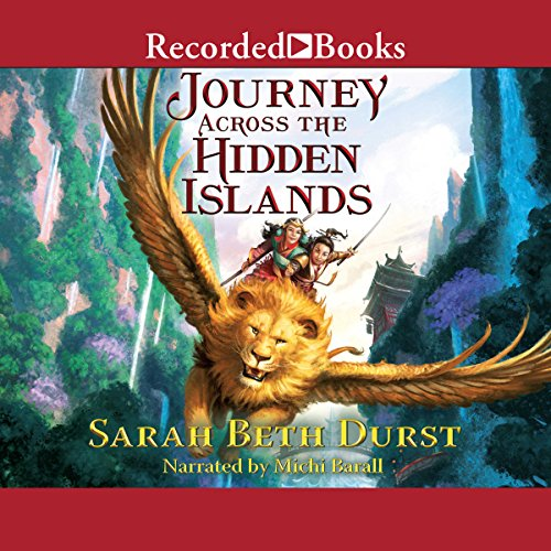 Journey Across the Hidden Islands audiobook cover art