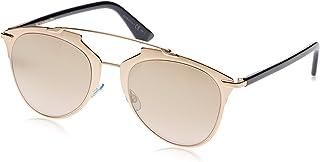 كريستيان ديور نظارة شمسية للنساء ، ذهبي