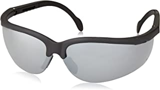 Radians RK4-70 Rock Lightweight Design White Frame Safety Glasses with Rubber Tipped Temples