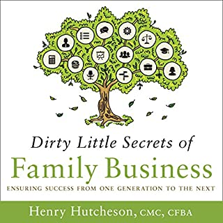 Dirty Little Secrets of Family Business audiobook cover art