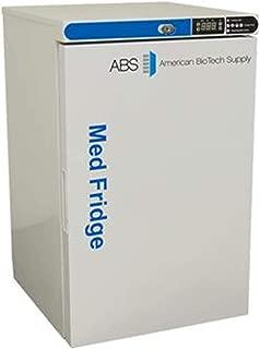 American BioTech Supply PH-ABT-HC-UCFS-0504G Premier Pharmacy/Vaccine Undercounter Refrigerator, Freestanding, Glass Door, 5.2 cu. ft. Capacity, White