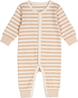 Niteo Baby Organic Cotton Snap Front Coverall