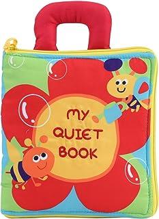 Libro de Tela Bebé Puzzle Libros Blandos Multifuncional