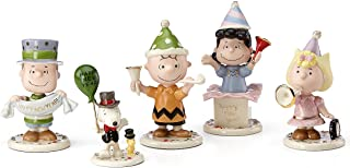 Lenox Peanuts Happy New Year Figurines Eve Party Charlie Brown Snoopy Lucy
