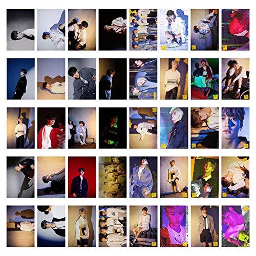 Fat Bear Kpop Stray Fotoalbum voor kinderen, gele kaart, Polaroid Lomo Ansichtkaart