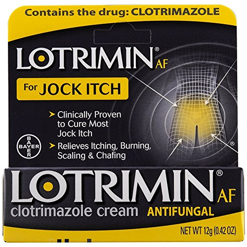 Lotrimin AF Jock Itch Antifungal Cream 0.42 oz (Pack of 3)