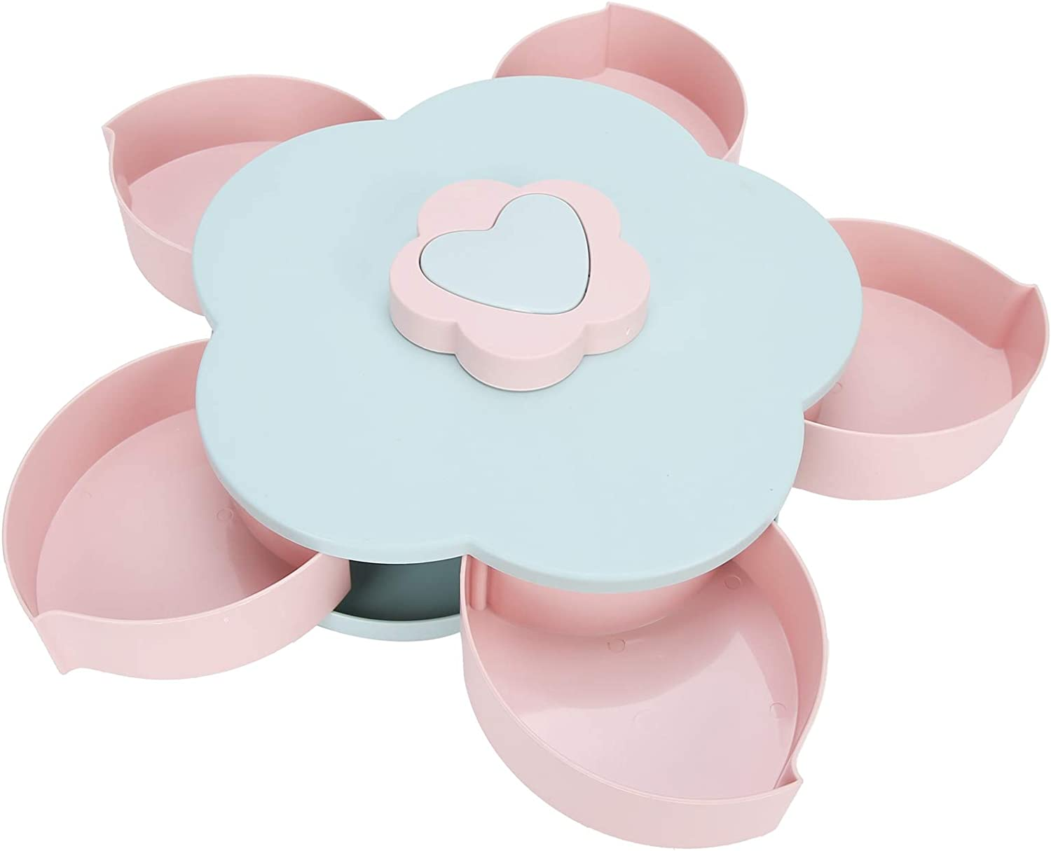 Alvinlite Petal Rotating Dried Portland Mall Fruit Container - Candy Plate Sna Popular shop is the lowest price challenge