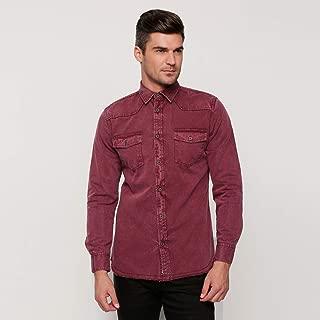 lee Cooper Shirts For Men, Red L