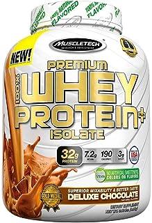 Muscletech Whey protein premium isolada 3lb - Chocolate deluxe