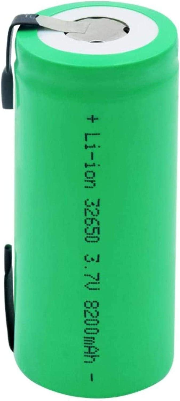 shipfree Lithium Ion Battery 32650 Li-IonBatteries 3.7V New Free Shipping Li-Ion 8200Mah