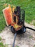 Flammlachs-Feuerkorb mit Zubehör - 7