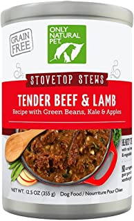 Only Natural Pet Stovetop Stew Grain Free Canned Dog Food
