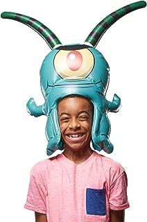 "SpongeBob SquarePants, Spongeheads, +20"" Tall Inflatable Wearable, Plankton, Green"