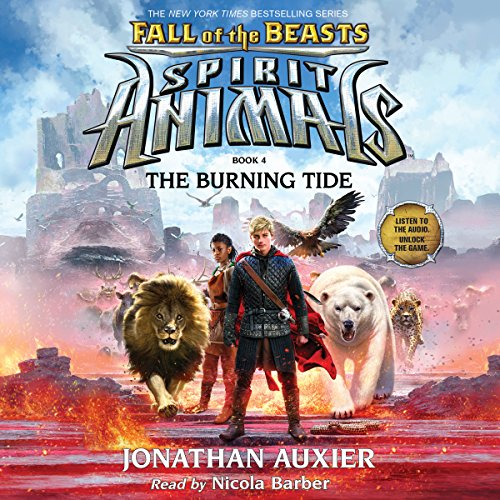 The Burning Tide copertina