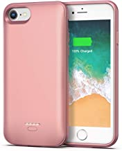 Smiphee iPhone 6 6s Battery Case, 4000mAh Portable ProtectiveCharging Case for iPhone 6 6s(4.7 inch) Extended Battery Charger Case (Rose Gold)
