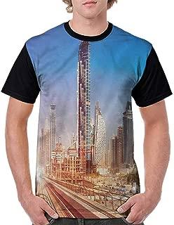 BlountDecor Unisex T-Shirt,View of Cesky Krumlov Fashion Personality Customization