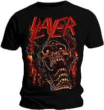 Ripleys Clothing Oficial Camiseta Slayer Calavera Meathooks Metal Todos Los Tamaños